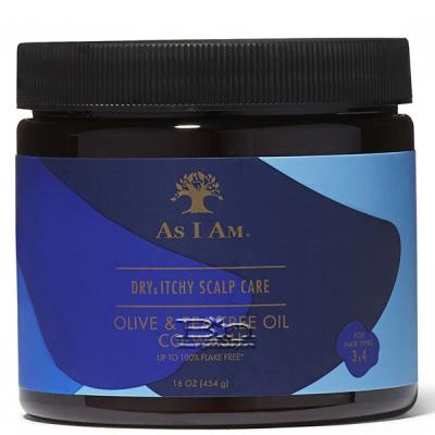 As I Am Dry & Itchy Scalp Olive & Tea Tree Oil Co-Wash 16oz