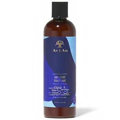 As I Am Dry & Itchy Scalp Care Olive & Tea Tree Oil Conditioner 12oz