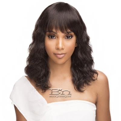 The Wig Black Pink Pure Virgin Remy 100% Human Hair Wig - HHBW SUE