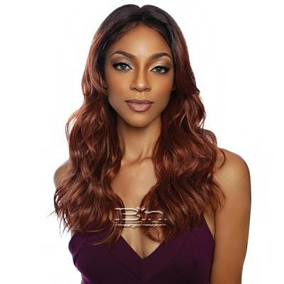 Mane Concept Red Carpet Synthetic Hair HD Trendy Lace Front Wig - RCTD202 BRIA