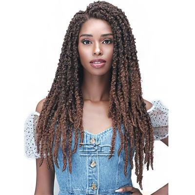 Bobbi Boss Synthetic Hair 4x4 Frontal Lace  Wig - MLF615 CALIF BUTTERFLY LOCS 26