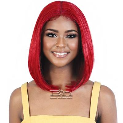 Motown Tress Synthetic Hair HD Spin Part Invisible Lace Wig - LDP RUBY14