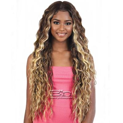 Motown Tress Synthetic Hair Deep Part Let's HD 360 Lace Wig - L360 ADA