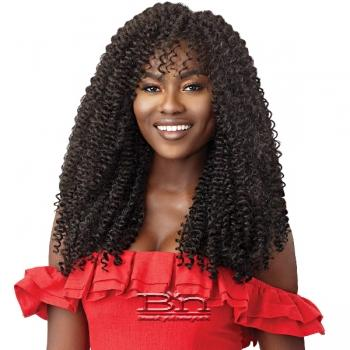 Outre Synthetic Braid - X PRESSION TWISTED UP 2X WATERWAVE FRO TWIST 22