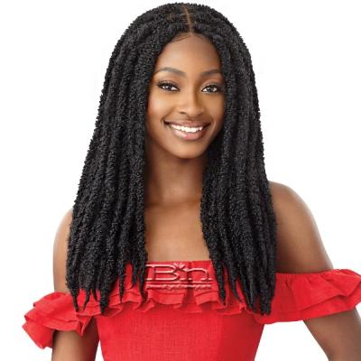 Outre Synthetic Twisted Up 4X4 Braid Lace Wig - BUTTERFLY LOCS 22