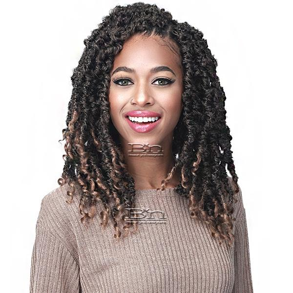 Bobbi Boss Synthetic Braid - 2X NU LOCS BUTTERFLY CURLY TIPS 12