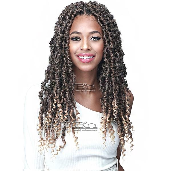 Bobbi Boss Synthetic Braid - 2X NU LOCS BUTTERFLY CURLY TIPS 18