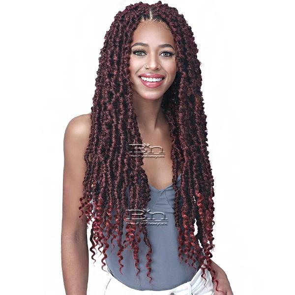 Bobbi Boss Synthetic Braid - 2X NU LOCS BUTTERFLY CURLY TIPS 24