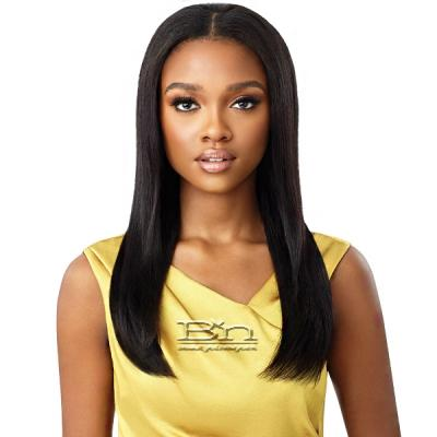 Outre Mytresses Gold Label 100% Unprocessed Human Hair U Part Leave Out Wig - BRAZILIAN STRAIGHT 20