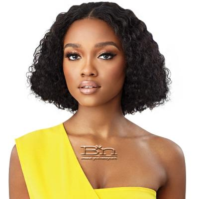 Outre Mytresses Gold Label 100% Unprocessed Human Hair U Part Leave Out Wig - DOMINICAN CURLY 10