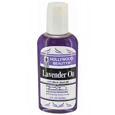 Hollywood Beauty Lavender Oil with Black Seed Oil 2oz