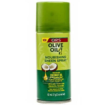 ORS Olive Oil Nourishing Sheen Spray Infused with Coconut Oil 2oz
