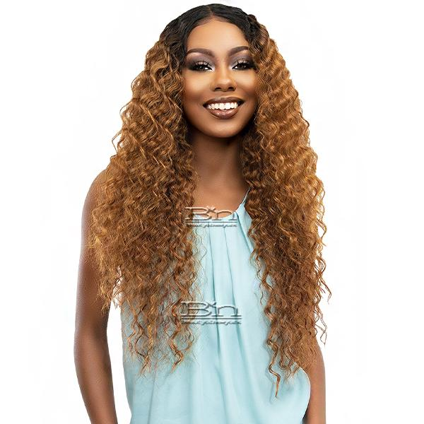Janet Collection Synthetic Melt Extended Part HD Lace Wig - ADDY
