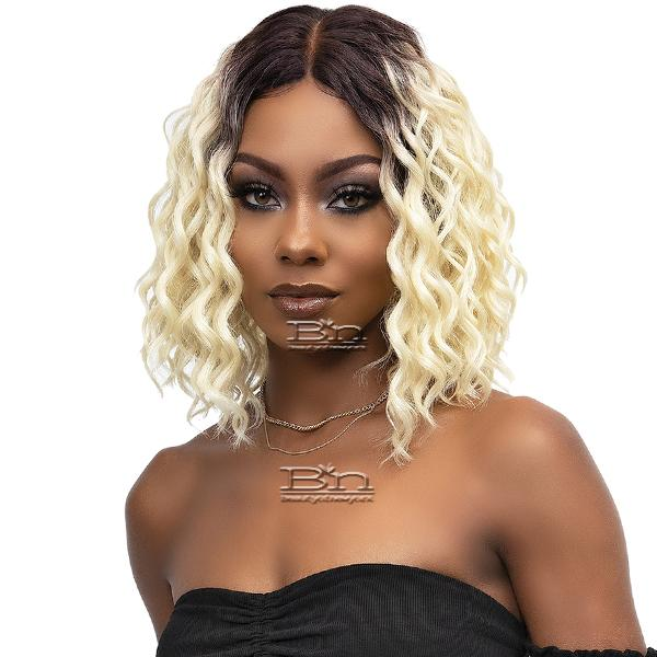 Janet Collection Synthetic Melt Extended Part HD Lace Wig - COEN
