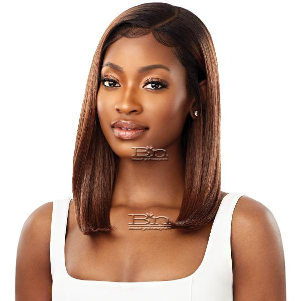 Outre Synthetic Sleeklay Part HD Lace Front Wig - DAISHA