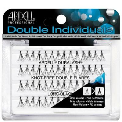 Ardell Double Individuals Knot Free Double Flares Long Black