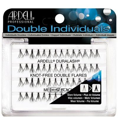 Ardell Double Individuals Knot Free Double Flares Medium Black