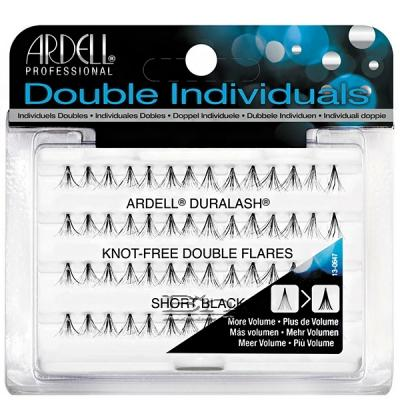 Ardell Double Individuals Knot Free Double Flares Short Black