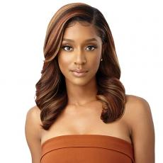 Outre Synthetic Melted Hairline HD Lace Front Wig - AMANDA