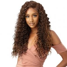Outre Synthetic Melted Hairline HD Lace Front Wig - CONSTANZA