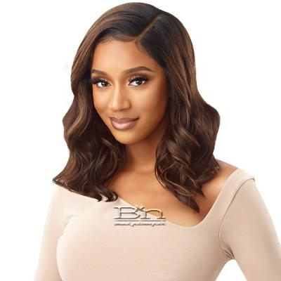 Outre Synthetic Melted Hairline HD Lace Front Wig - HERMINIA