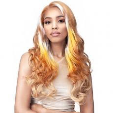 Bobbi Boss Synthetic Hair 13x7 Glueless HD Lace Frontal Wig - MLF603 DOMICIA