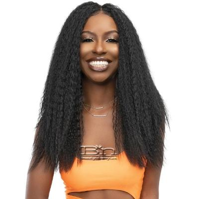 Janet Collection Synthetic Melt 13x6 HD Lace Frontal Wig - KINKY 22