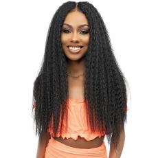Janet Collection Synthetic Melt 13x6 HD Lace Frontal Wig - KINKY 28