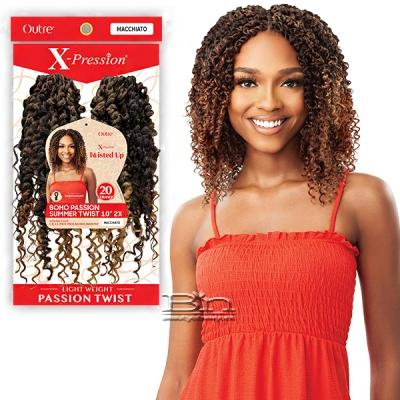Outre Synthetic Braid - X PRESSION TWISTED UP 2X BOHO PASSION SUMMER TWIST 10