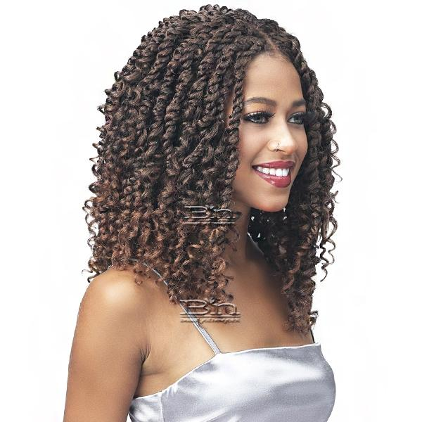 Bobbi Boss Synthetic Hair 4x4 HD Lace Frontal Wig - MLF611 PASSION TWST BOHO 16