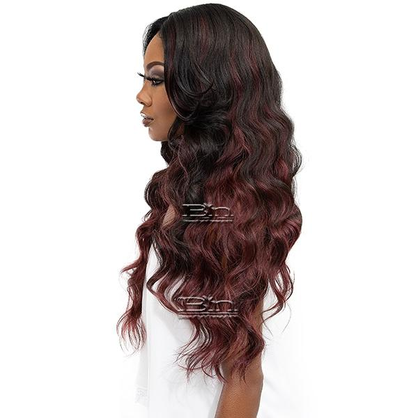 Janet Collection Synthetic Melt Extended Part HD Lace Wig - BODE