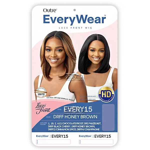 Outre Synthetic EveryWear HD Lace Front Wig - EVERY 15