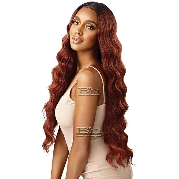 Outre Synthetic Sleeklay Part HD Lace Front Wig - DALILAH 34