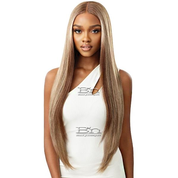 Outre Synthetic Sleeklay Part HD Lace Front Wig - ELMIRAH 34
