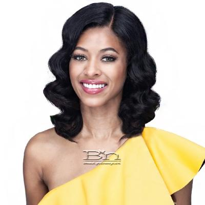 Bobbi Boss 100% Unprocessed Human Hair HD Lace Front Wig - MHLF570 JUDITH