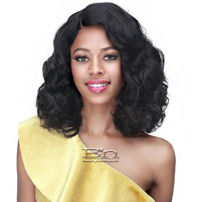 Bobbi Boss 100% Unprocessed Human Hair HD Lace Front Wig - MHLF573 ANSLEY