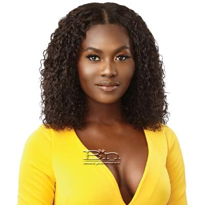Outre Mytresses Gold Label 100% Unprocessed Human Hair U Part Leave Out Wig - MALAYSIAN CURLY 14