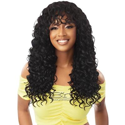Outre Converti Cap + Bang Synthetic Hair Wig - LOVED ONE + BANG