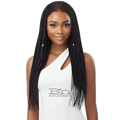 Outre Pre-Braided Synthetic HD Lace Wig - FULANI MICRO CORNROW BRAIDS (13x4 lace frontal)