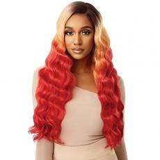Outre Color Bomb Synthetic HD Lace Front Wig - CELESTINE