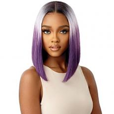 Outre Color Bomb Synthetic HD Lace Front Wig - JELISSE
