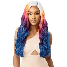 Outre Color Bomb Synthetic HD Lace Front Wig - ZAHARA