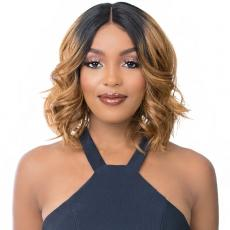 It's a Wig Synthetic Hair HD Lace Wig - HD T LACE LEENA