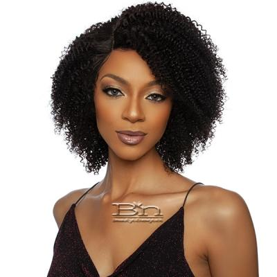 Mane Concept Trill 100% Brazilian Virgin Remy Hair HD Lace Wig - TROH204 13A HD HIGH DENSITY AFRO CURLY 14