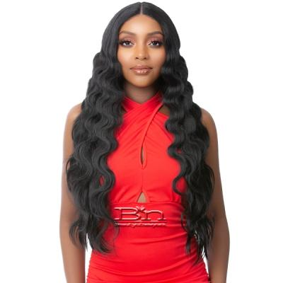 It's a Wig Synthetic Hair HD Lace Wig - HD LACE CRIMPED JUMBO HAIR 6