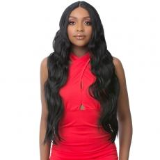 It's a Wig Synthetic Hair HD Lace Wig - HD LACE CRIMPED MEGA HAIR 7