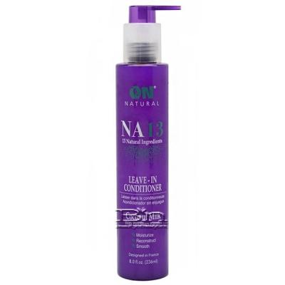 On Natural NA13 Leave In Conditioner Coconut Milk with Brazilian Keratin 8oz