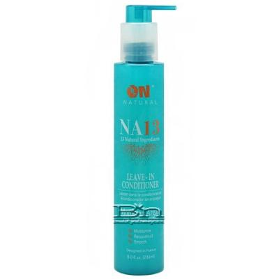 On Natural NA13 Leave In Conditioner Moroccan Argan with Brazilian Keratin 8oz