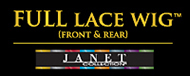 Janet Collection Synthetic Full Lace Wig