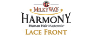 Milky Way Human Hair Blend Harmony Lace Front Wig